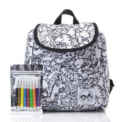 กระเป๋าระบายสี Colour and Wash Backpack (3Y+ ) ลาย Dino