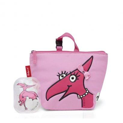 Zip & Zoe กระเป๋าใส่อาหาร Lunch Bag + Ice Pack - Daisy Dragon Face
