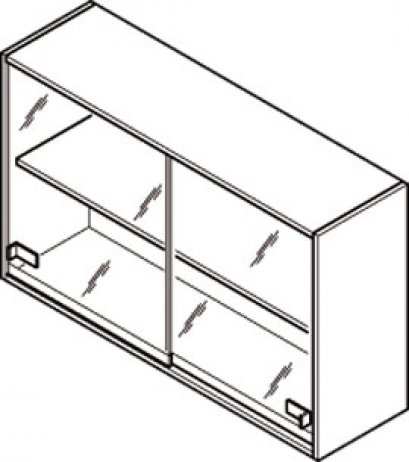 Overbench cabinet