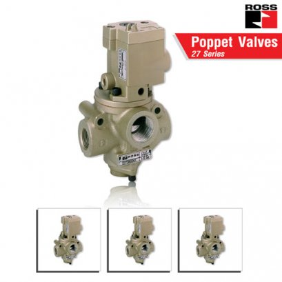 ROSS Controls® Poppet Valves with & without Control Options– 27 Series