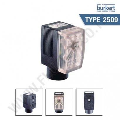 BURKERT TYPE 2509 - Male connector DIN EN 175301-803 - form A