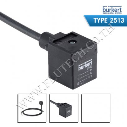 BURKERT TYPE 2513 - Cable plug acc. to DIN EN 175301-803 Form A