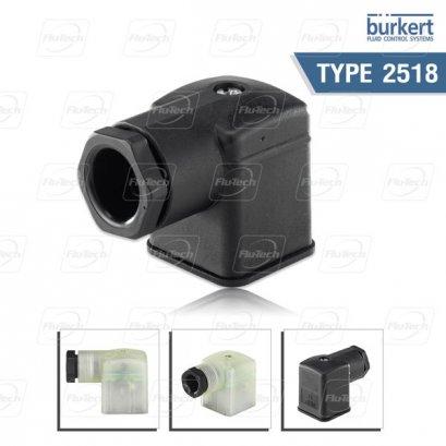 Burkert Type 2518 - Cable Plug DIN EN 175301-803 - Form A