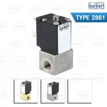 BURKERT TYPE 2861 - Direct-acting 2-way basic proportional valve