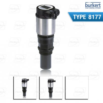 Burkert Type 8177 - Ultrasonic level measuring device