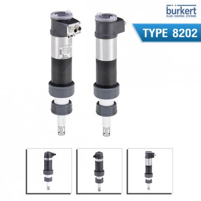 BURKERT TYPE 8202 - pH or redox potential measurement device