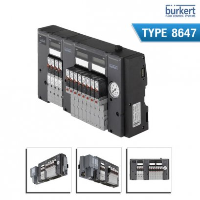 BURKERT TYPE 8647 - AirLINE SP – electropneumatic automation system