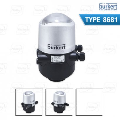 BURKERT TYPE 8681 - Control head for decentralized automation of hygienic process valves