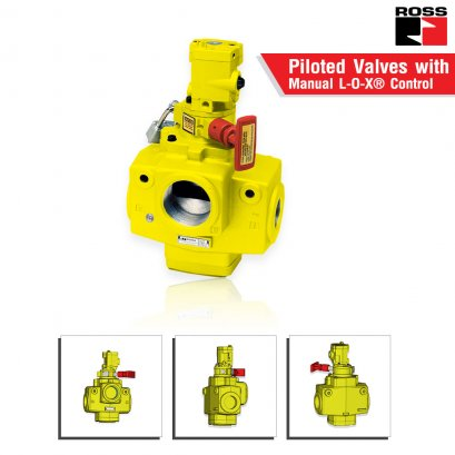 Piloted Valves with Manual L-O-X® Control 27 Series