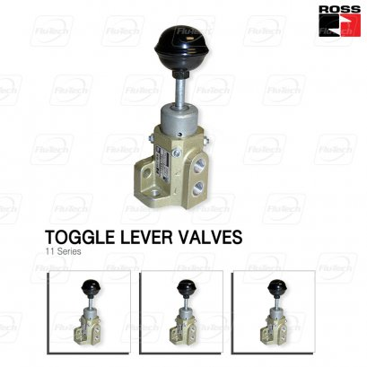 Toggle Lever Manual Valve - 11 Series