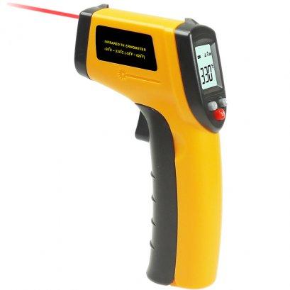 เครื่องวัดอุณหภูมิอินฟราเรด ช่วงวัดอุณหภมิ -50-330 องศาC