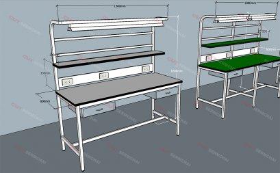 โต๊ะQC สำหรับงานอิเล็กทรอนิกส์