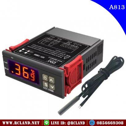 เครื่องควบคุมอุณหภูมิ STC1000 Digital Thermostat for Incubator Temperature Controller Thermoregulator Relay Heating Cooling 110-220Vac 50Hz
