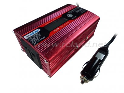 Suoer New Product 300W Power Inverter High Quality Car Power Inverter (STA-E300A)