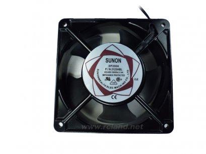 พัดลมระบายความร้อน 220VAC 0.14A 4.5นิ้ว