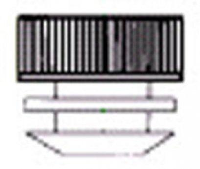 Plug Tilte 12,13mm.,PE.