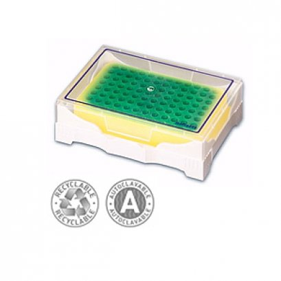 ISO Freeze gel Filled Rack O°C (Green to Yellow)