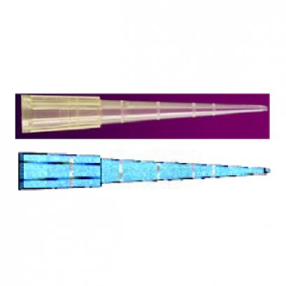 Universal Graduated Pipet Tip 1-200ul. Yellow