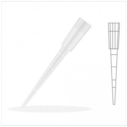 Graduated Pipet Tip 200 ul.,Yellow