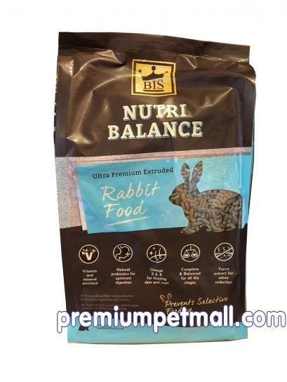 อาหารกระต่าย BIS บีไอเอส Nutri balance Ultra 2 กก. เกรดอัลตร้าพรีเมี่ยม