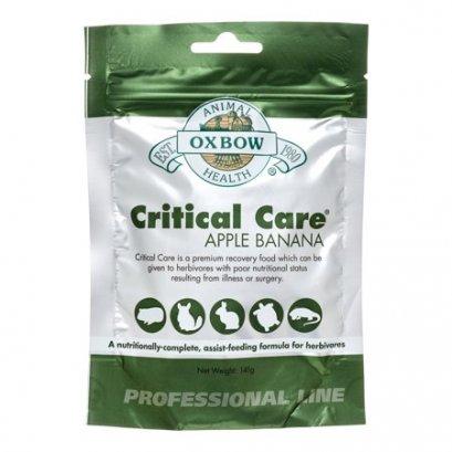 Oxbow Critical Care 141 กรัม กลิ่นแอปเปิล กล้วย อาหารสัตว์ป่วย กระต่าย แกสบี้ ชินชิล่า