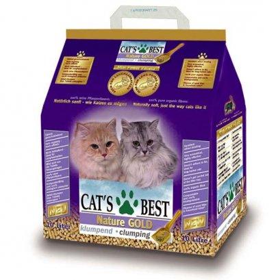 ทรายแมว Cat's Best Nuture Gold สีม่วง ขนาด 20 ลิตร