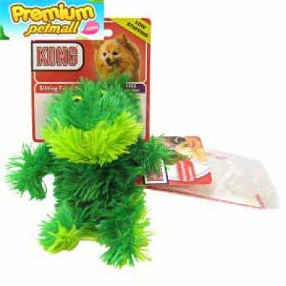 ของเล่น Kong Sitting Frog ตุ๊กตาเป็ด ไซต์ S สำหรับสุนัข