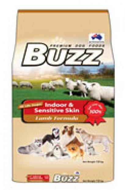 อาหารสุนัข Buzz สูตรเนื้อแกะ 420 กรัม.