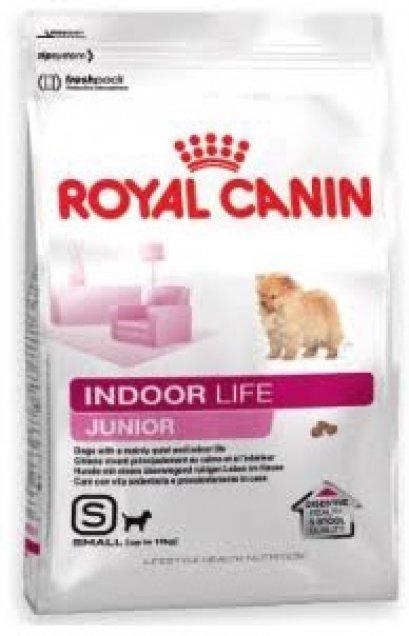 อาหารสุนัข Royal Canin Mini Indoor Life Junior ขนาด 1.5 กก