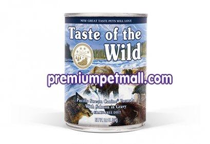 อาหารสุนัขแบบเปียก Taste of the Wild - Pacific Stream Canine with Smoked Salmon ขนาด 13.2 ออนซ์