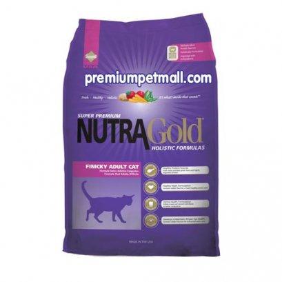 อาหารแมว นูทราโกล Nutra Gold Finicky Adult Cat ขนาด 3 กก.