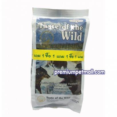 อาหารสุนัข Taste of the Wild - Pacific Stream Canine with Smoked Salmon ขนาด 1.5 ปอนด์