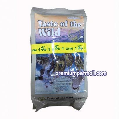 อาหารสุนัข Taste of the Wild Wetlands Canine Formula with Roasted Wild Fowl ขนาด 1.5 ปอนด์
