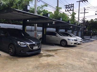 การติดตั้งระบบที่จอดรถอัตโนมัติ  ครั้งที่2 กับอาคาร จันทน์ สเปซ  รุ่น G-08 GSP Stack Parking  จำนวน 8 ชุด 16 คัน แล้วเสร็จเมื่อ 30 เมษายน 2561 ระยะเวลาการติดตั้ง 2 สัปดาห์