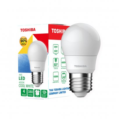 หลอด LED Bulb A45 Cool White 4W