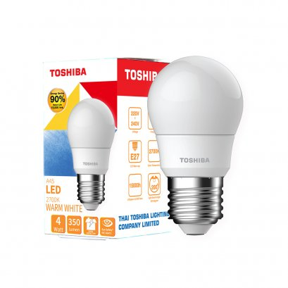หลอด LED Bulb A45 Warm White 4W
