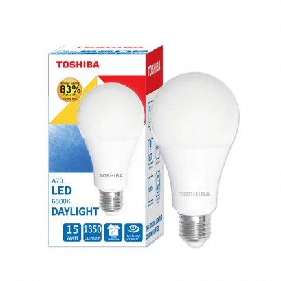 หลอดไฟ Toshiba LED Bulb A70 15W DL