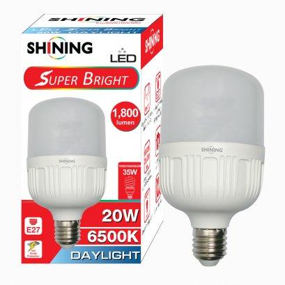 หลอด LED Super Bright Daylight 20W