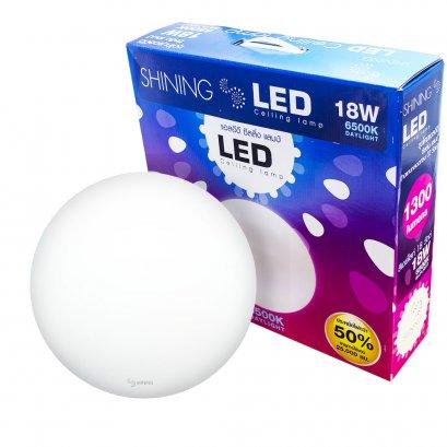 หลอดไฟ LED Ceiling Lamp 18W โคมซาลาเปา