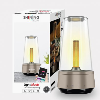 หลอดไฟ LED Dimmable Speaker Bluetooth