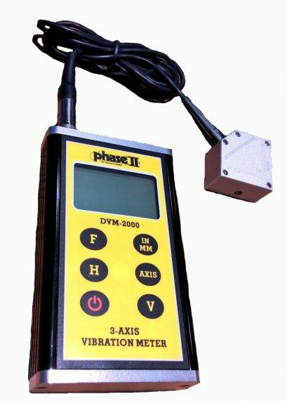 3-D Vibration Meter(DVM-2000)