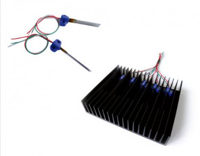 High Efficiency Piezoelectric Cooling Fan