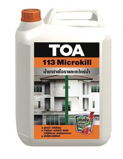 น้ำยาฆ่าเชื้อราและตะไคร่น้ำ TOA 113 Microkill