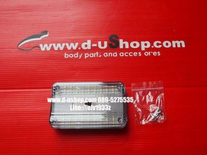 LED แบบติดเพดานรถยนต์ทุกรุ่น แบบทรงเหลี่ยม
