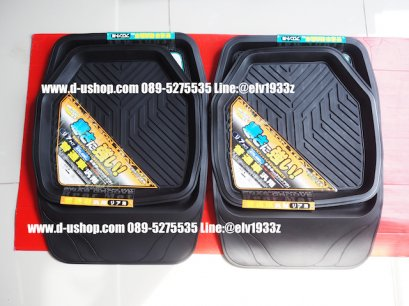 Black rubber floor tray for all cars.