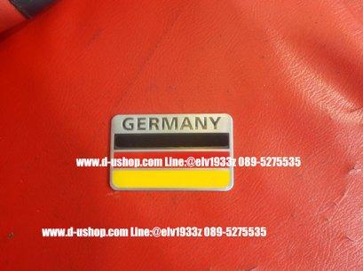 เพทโลโก้ธงชาติเยอรมัน สำหรับติดรถทุกรุ่น
