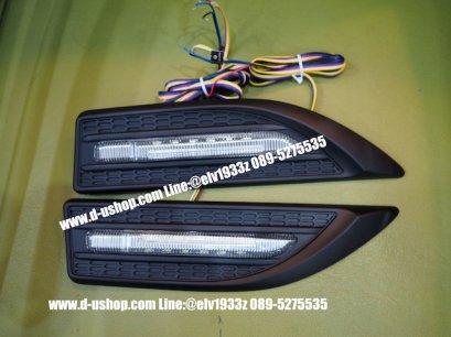 ครอบไฟแก้มสีดำด้าน LED สำหรับรถทุกรุ่น
