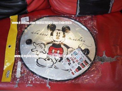 ม่านบังแดดข้างประตูลายการ์ตูน มิกกี้เม้าส์ สำหรับรถทุกรุ่น MickyMouse