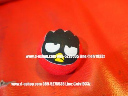ตุ๊กตาเสียบเสาอากาศbad badtz maru สีแดง