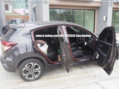 ยางกันเสียงขอบประตูกันลมเกาหลีสี สำหรับรถทุกรุ่น